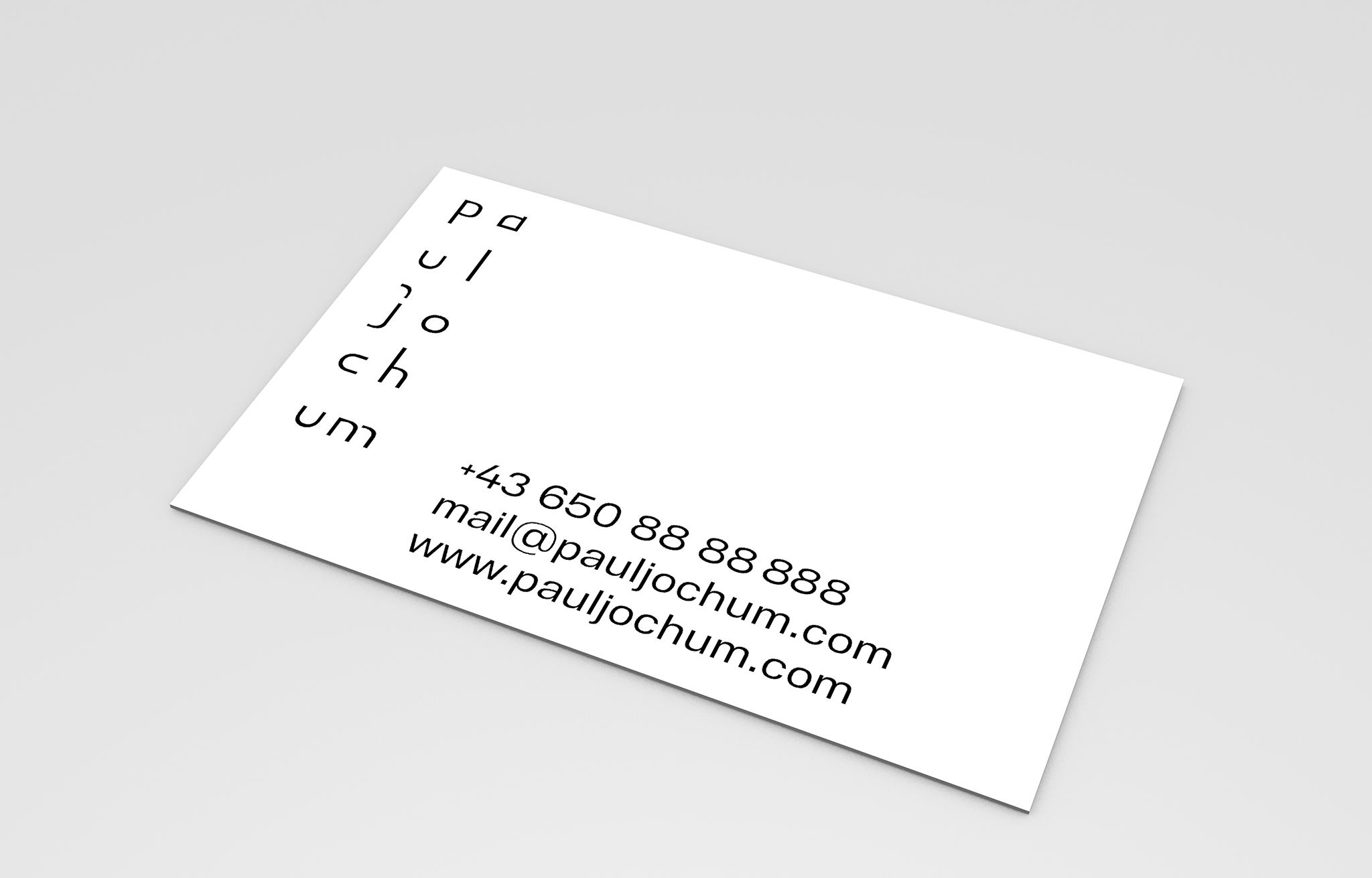 Corporate Identity Paul Jochum