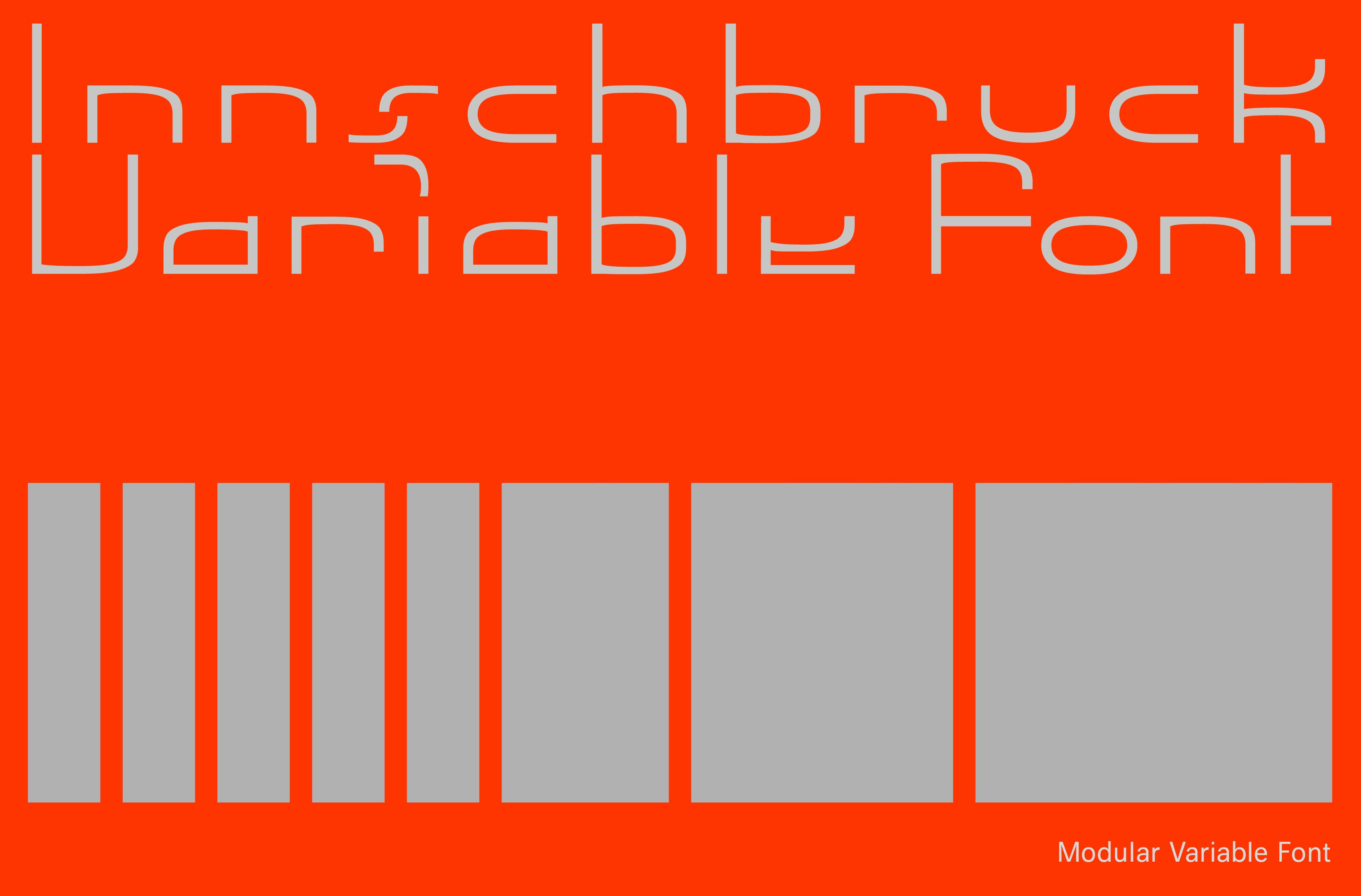 Innschbruck Variable Font Header