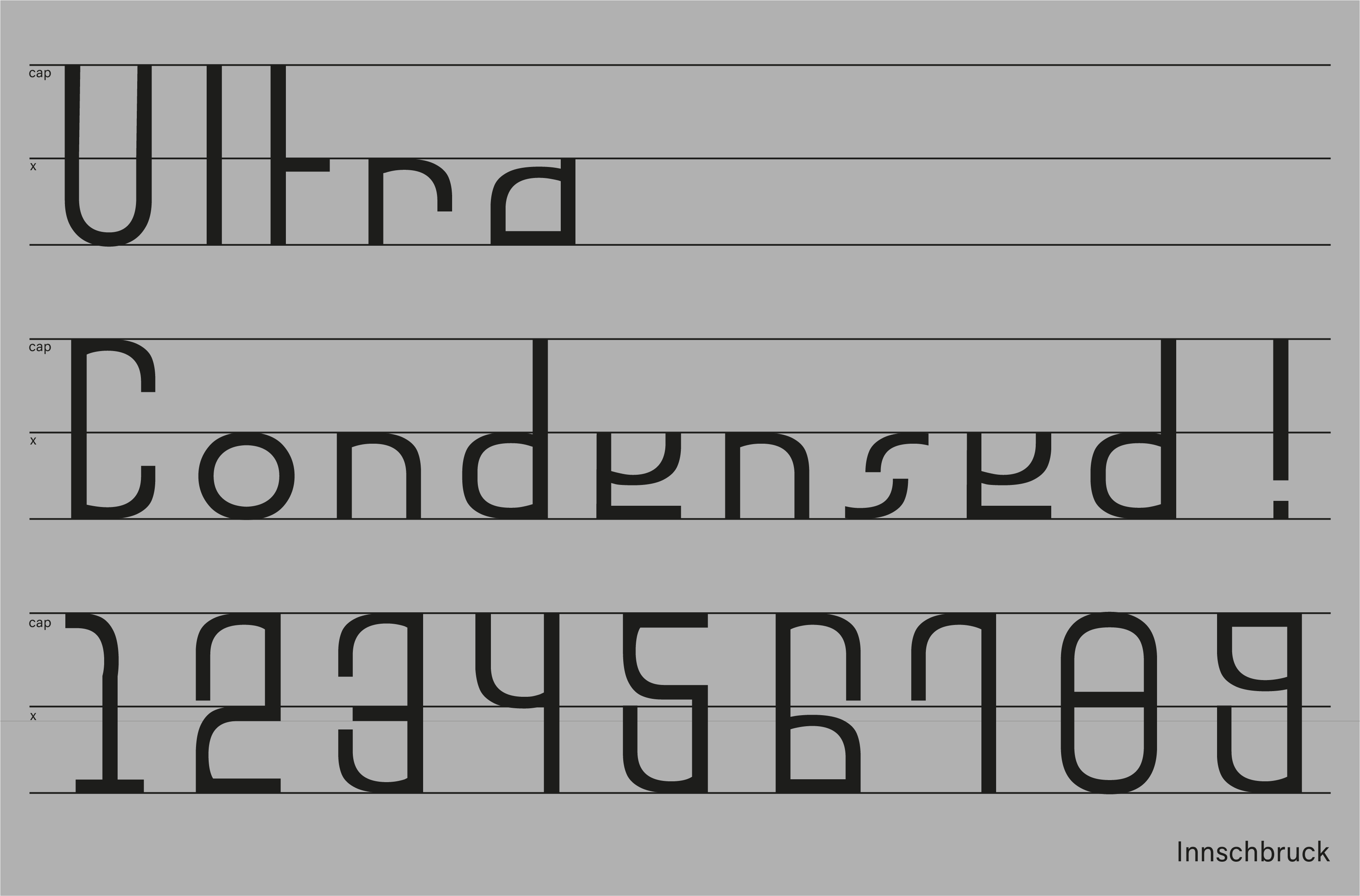 Innschbruck Variable Font Condensed