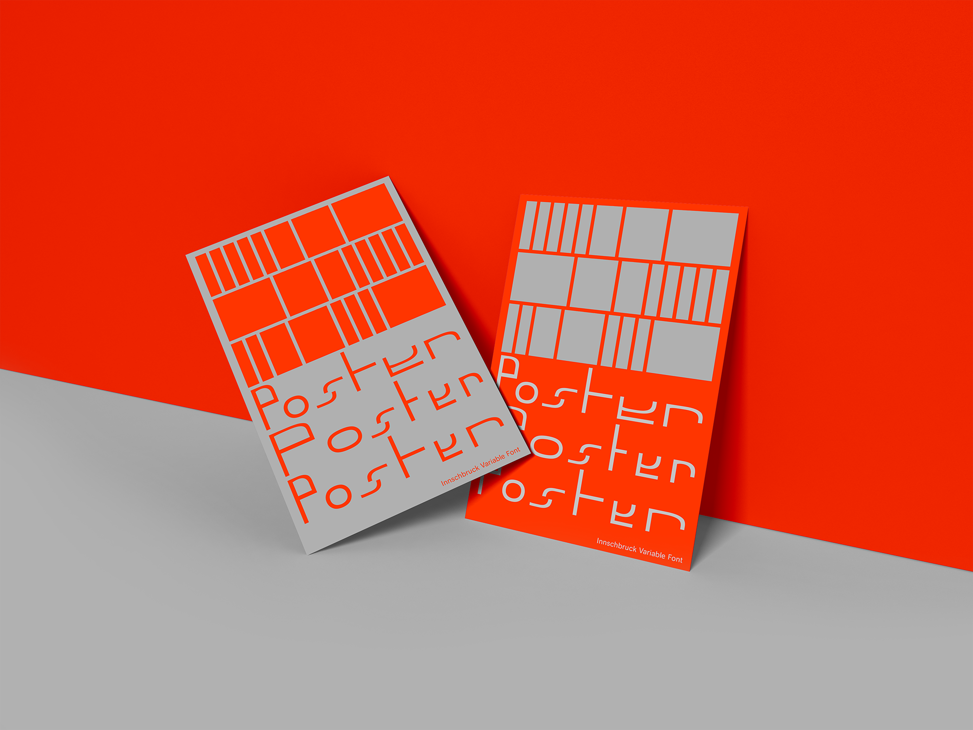 Innschbruck Variable Font Poster