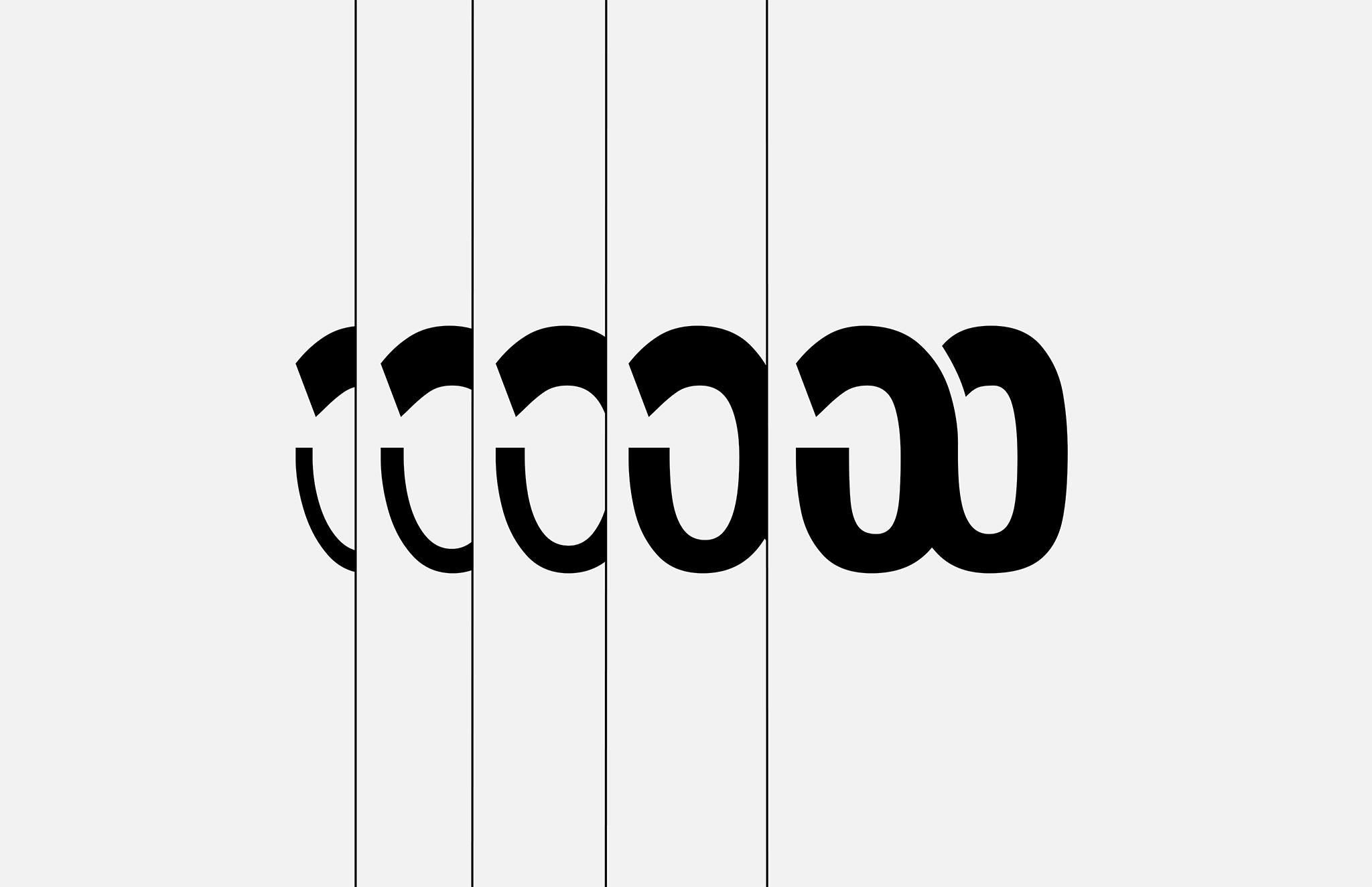 Wabla Typeface W Variation