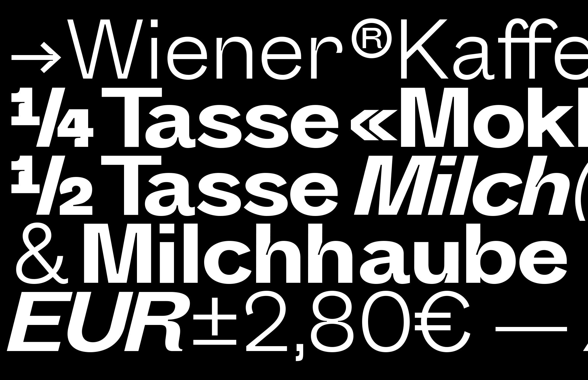Melange V2.0 & Italic Glyhps Showing