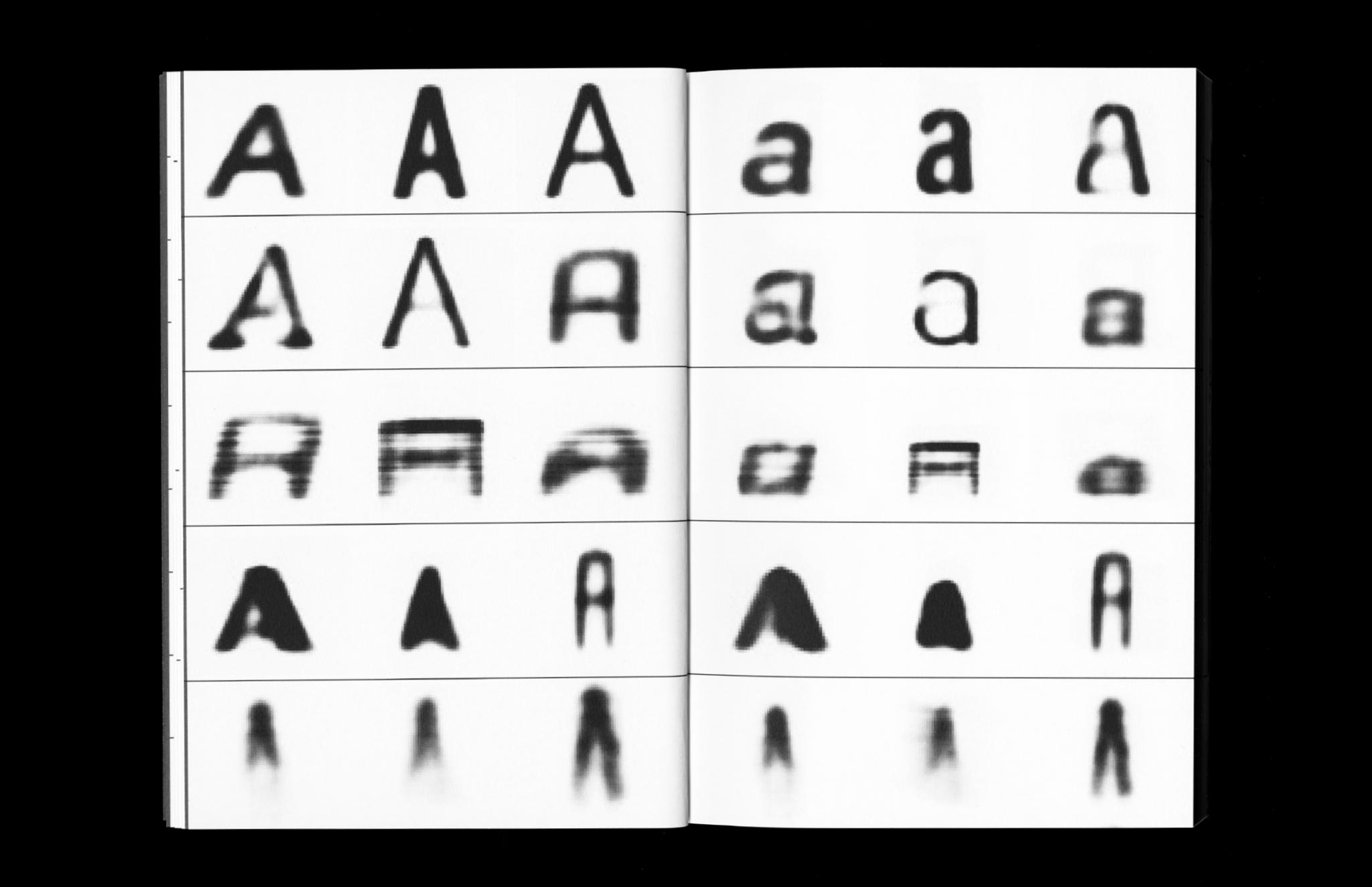 Alpha Epsilon AI Font Generation
