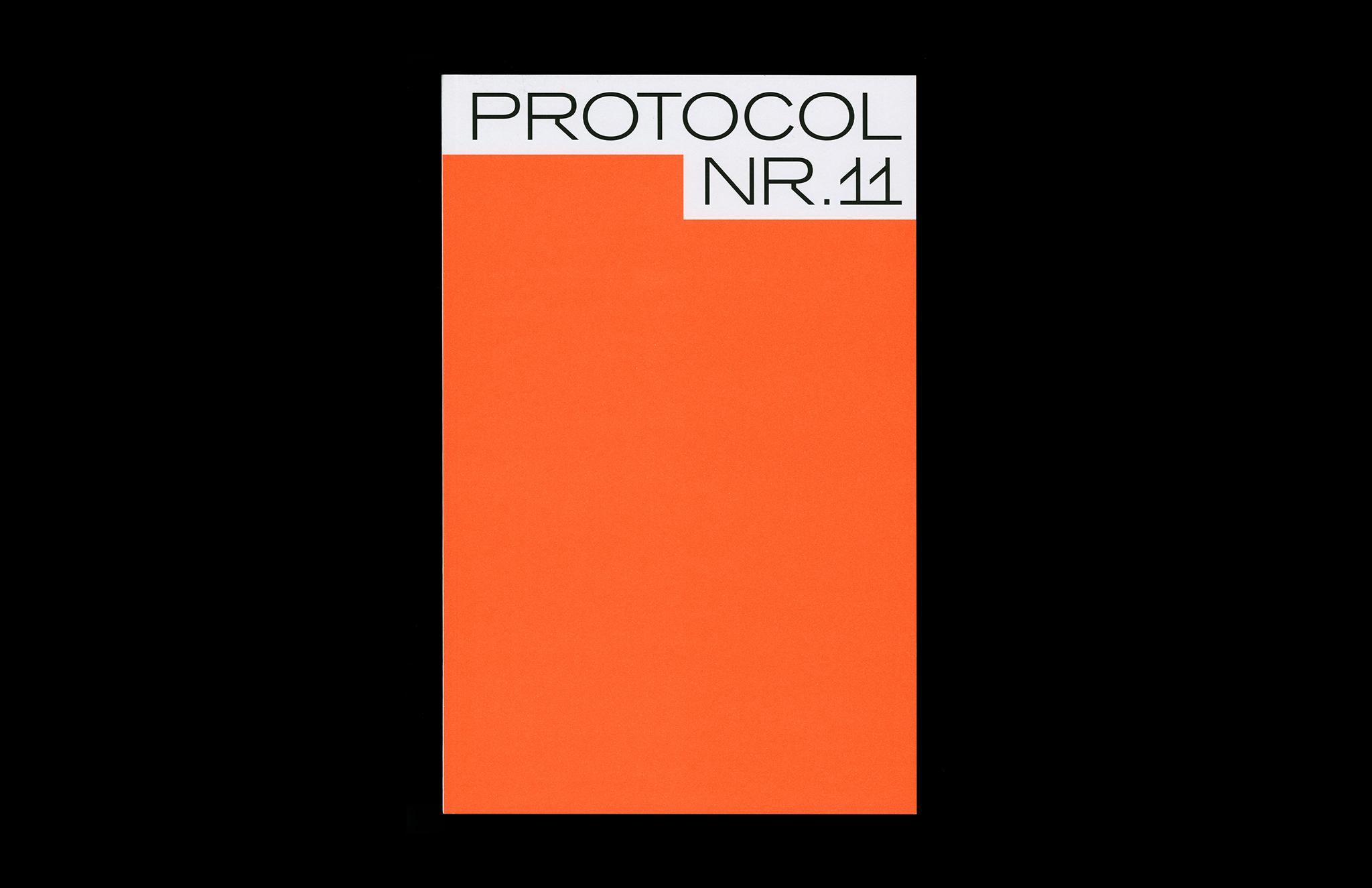 Protocol Nr.11 – Magazin für Architektur im Kontext Cover