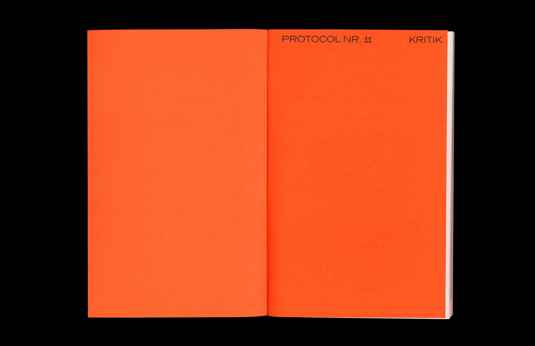 Protocol Nr.11 – Magazin für Architektur im Kontext Inhalt