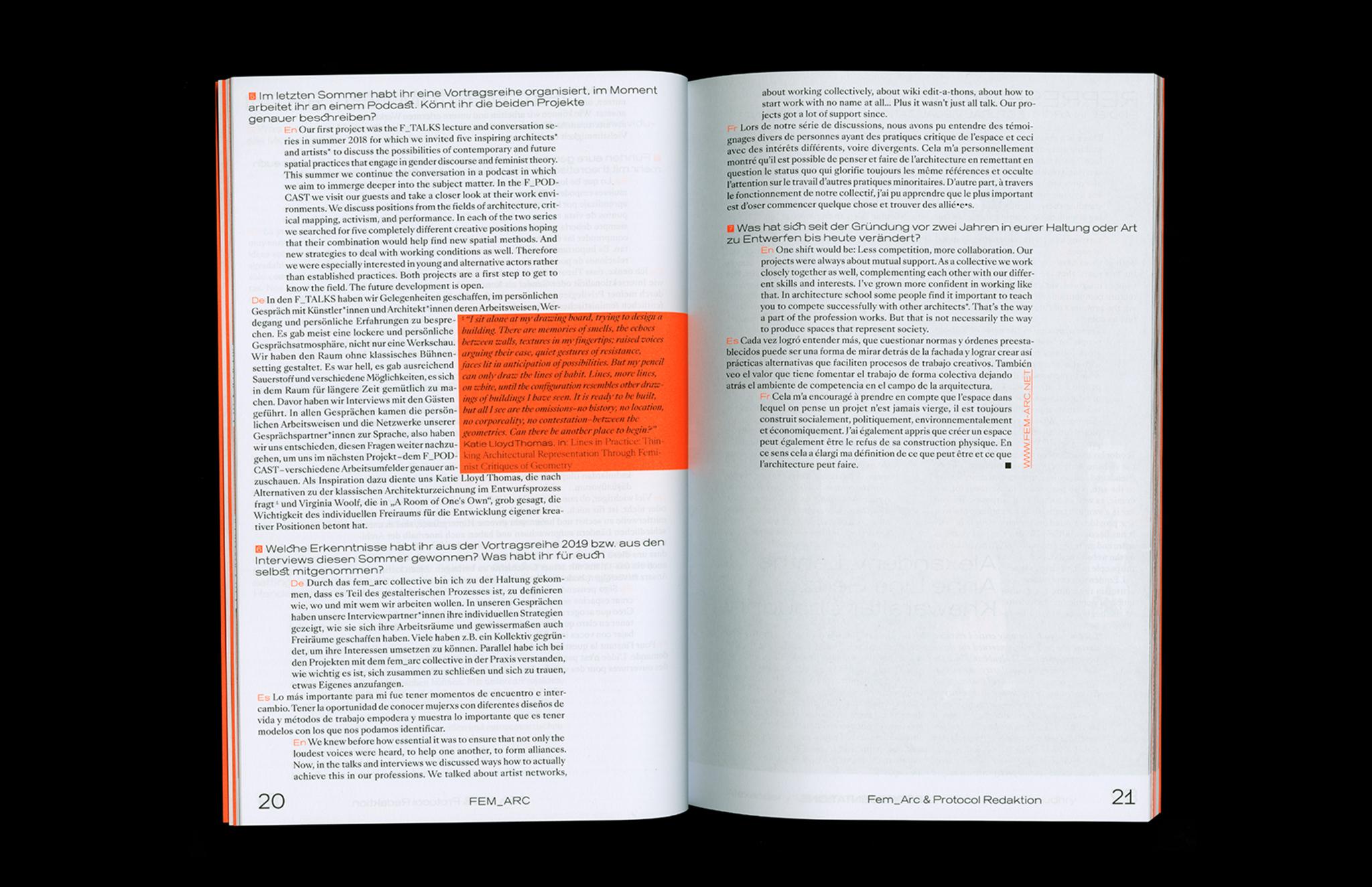 Protocol Nr.11 – Magazin für Architektur im Kontext Interview
