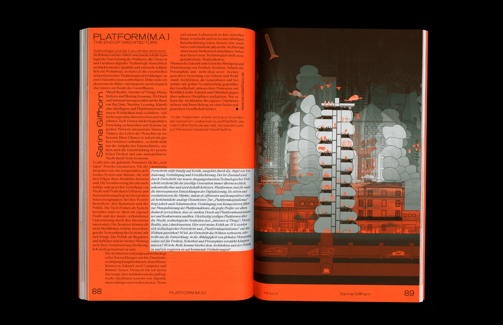 Protocol Nr.11 – Magazin für Architektur im Kontext Illustration