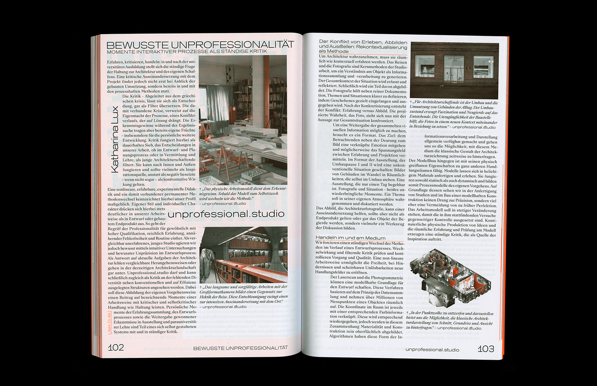 Protocol Nr.11 – Magazin für Architektur im Kontext Text and Photo