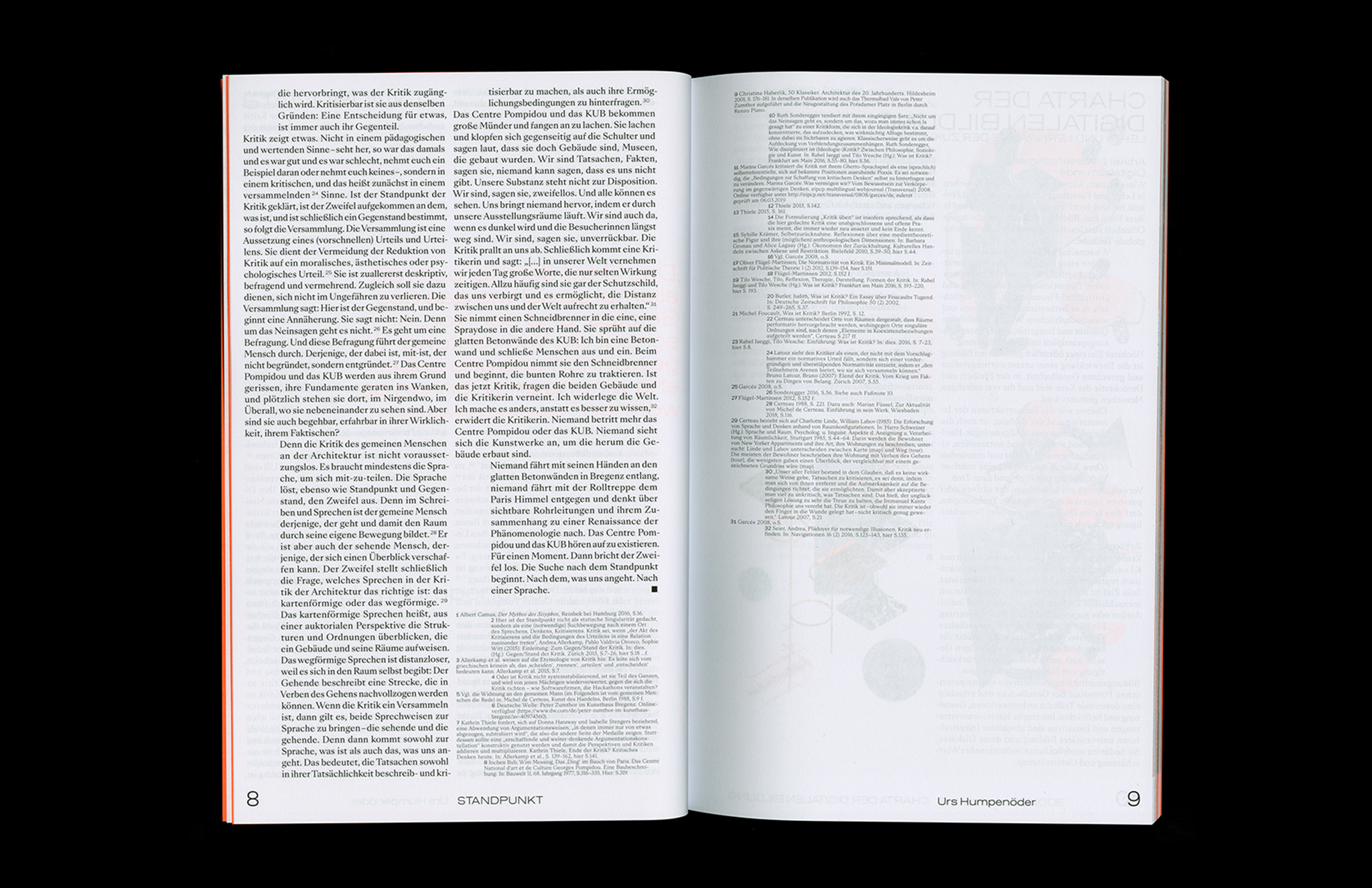 Protocol Nr.11 – Magazin für Architektur im Kontext Text