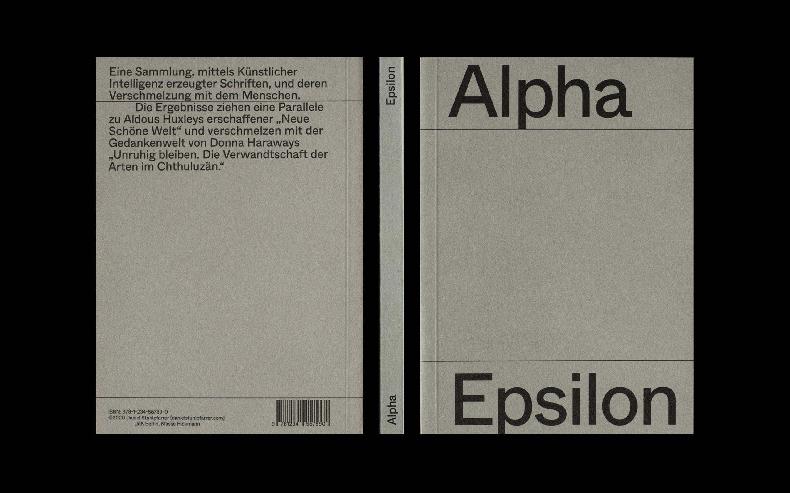 Alpha Epsilon Cover