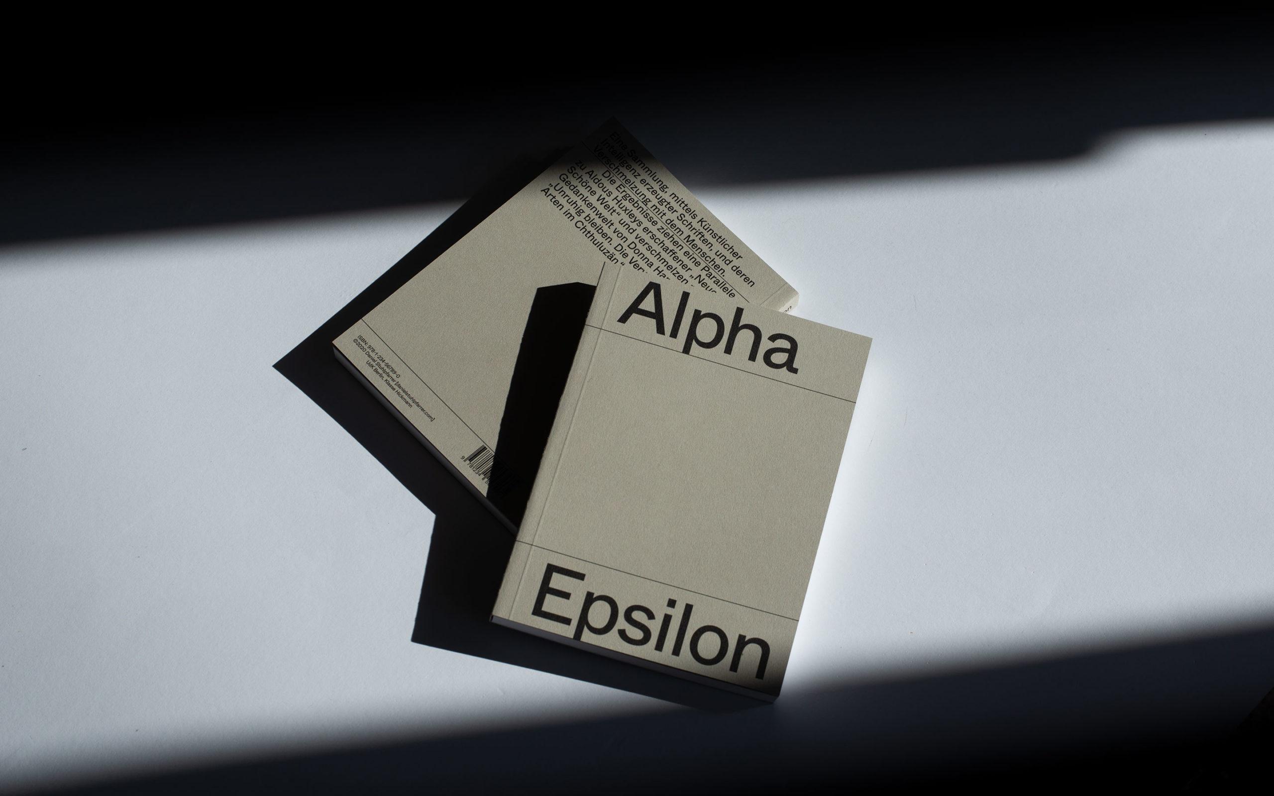 Alpha Epsilon Book Cover