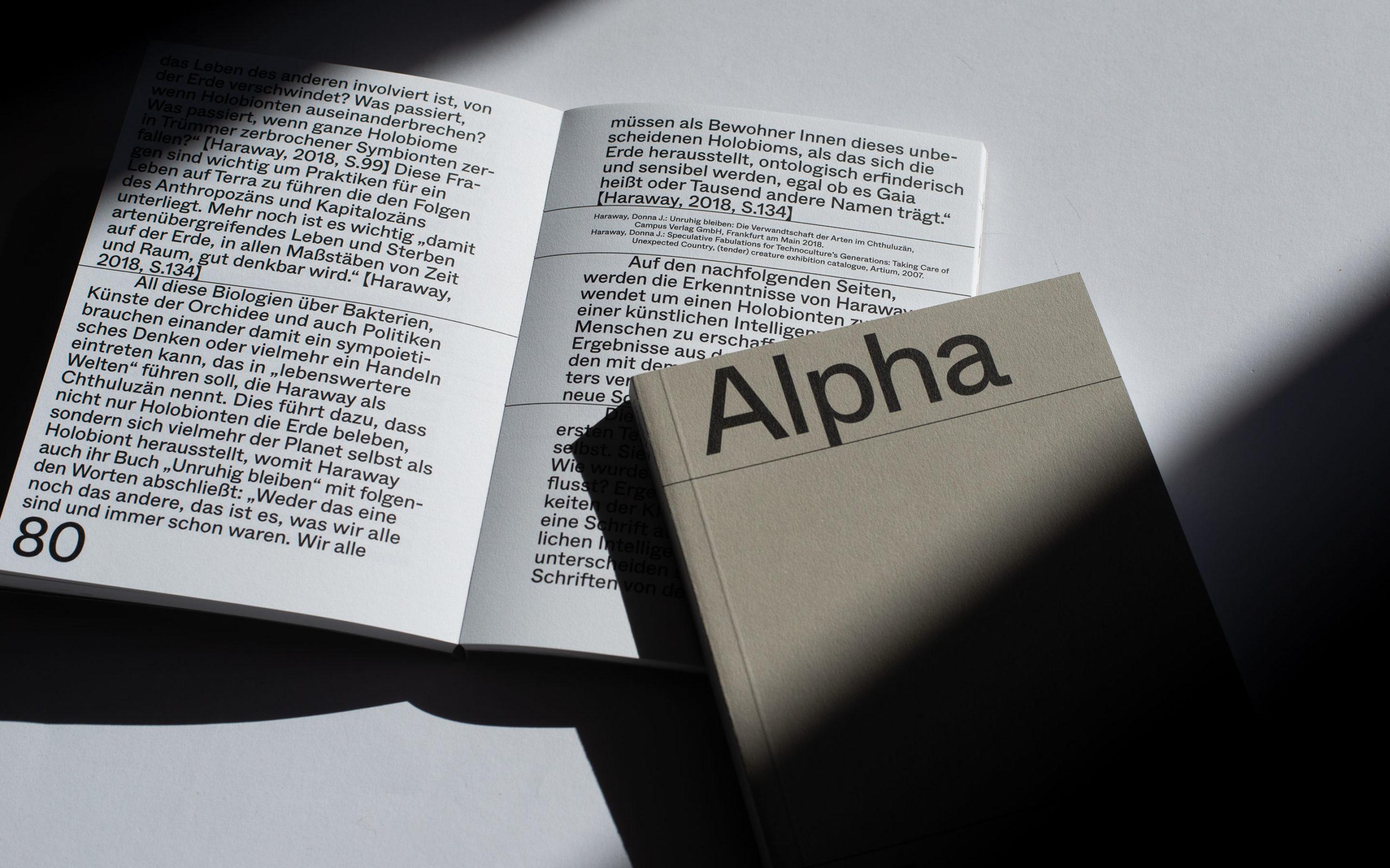 Alpha Epsilon Book + Inside
