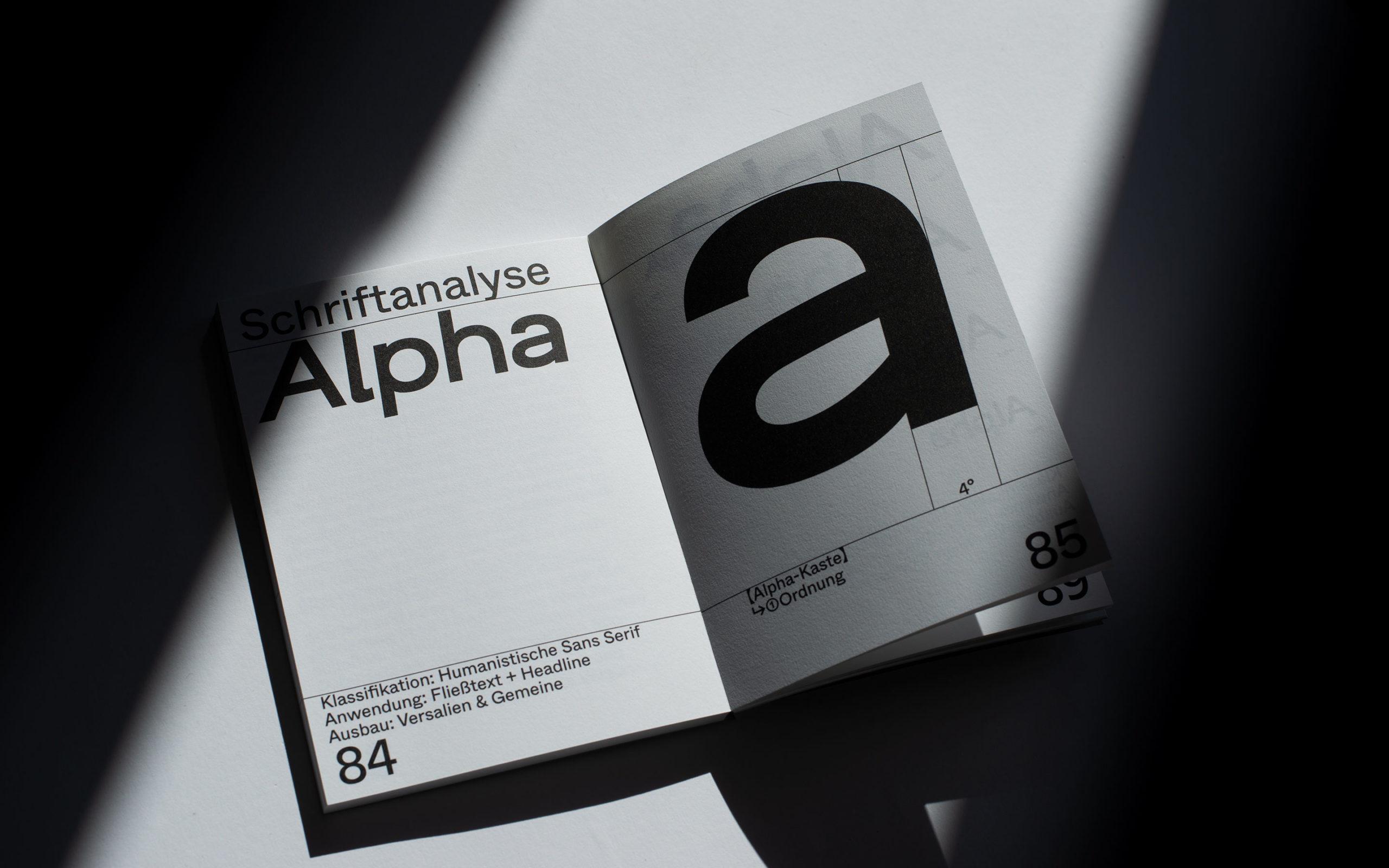 Alpha Epsilon - Alpha font