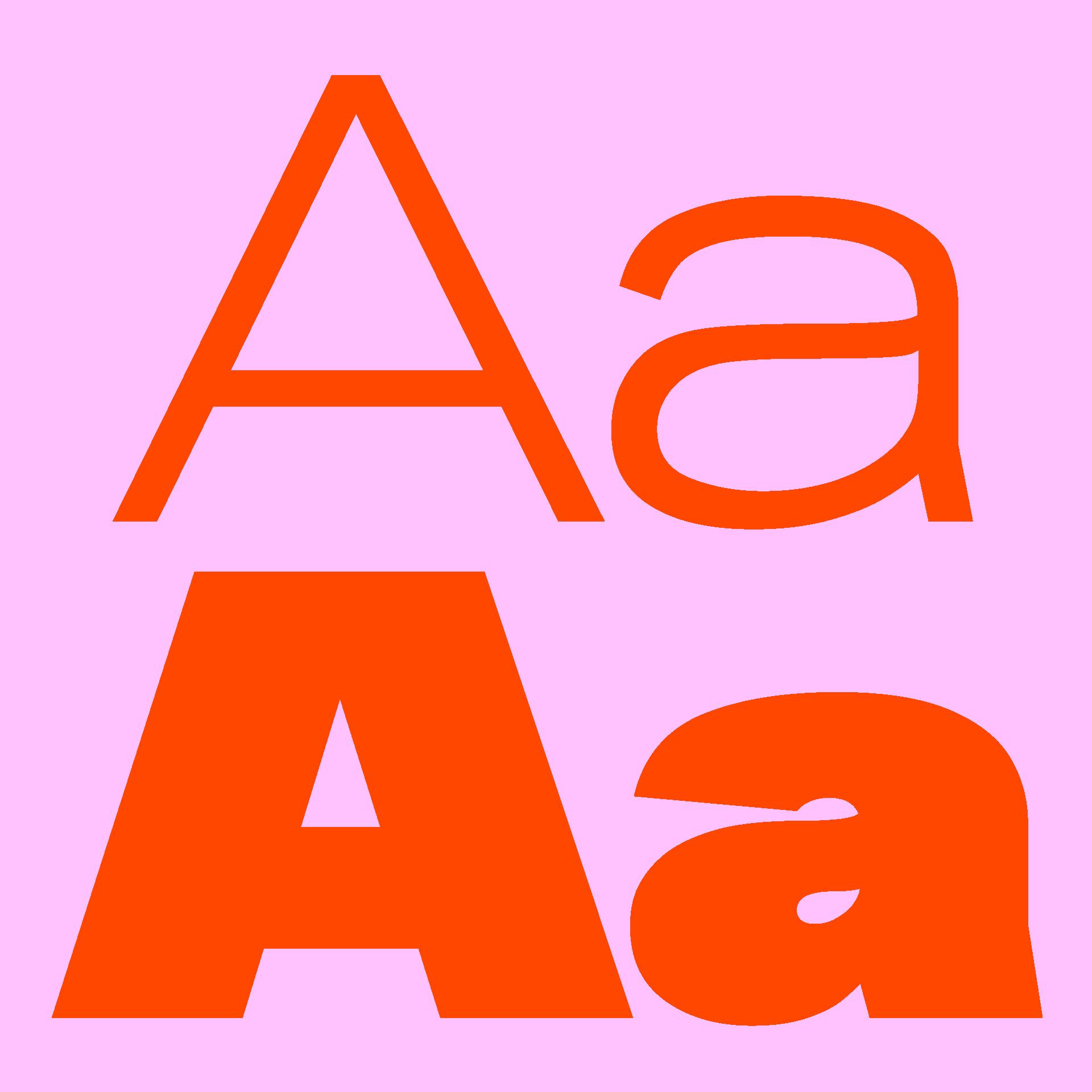 Kritik Typeface Aa