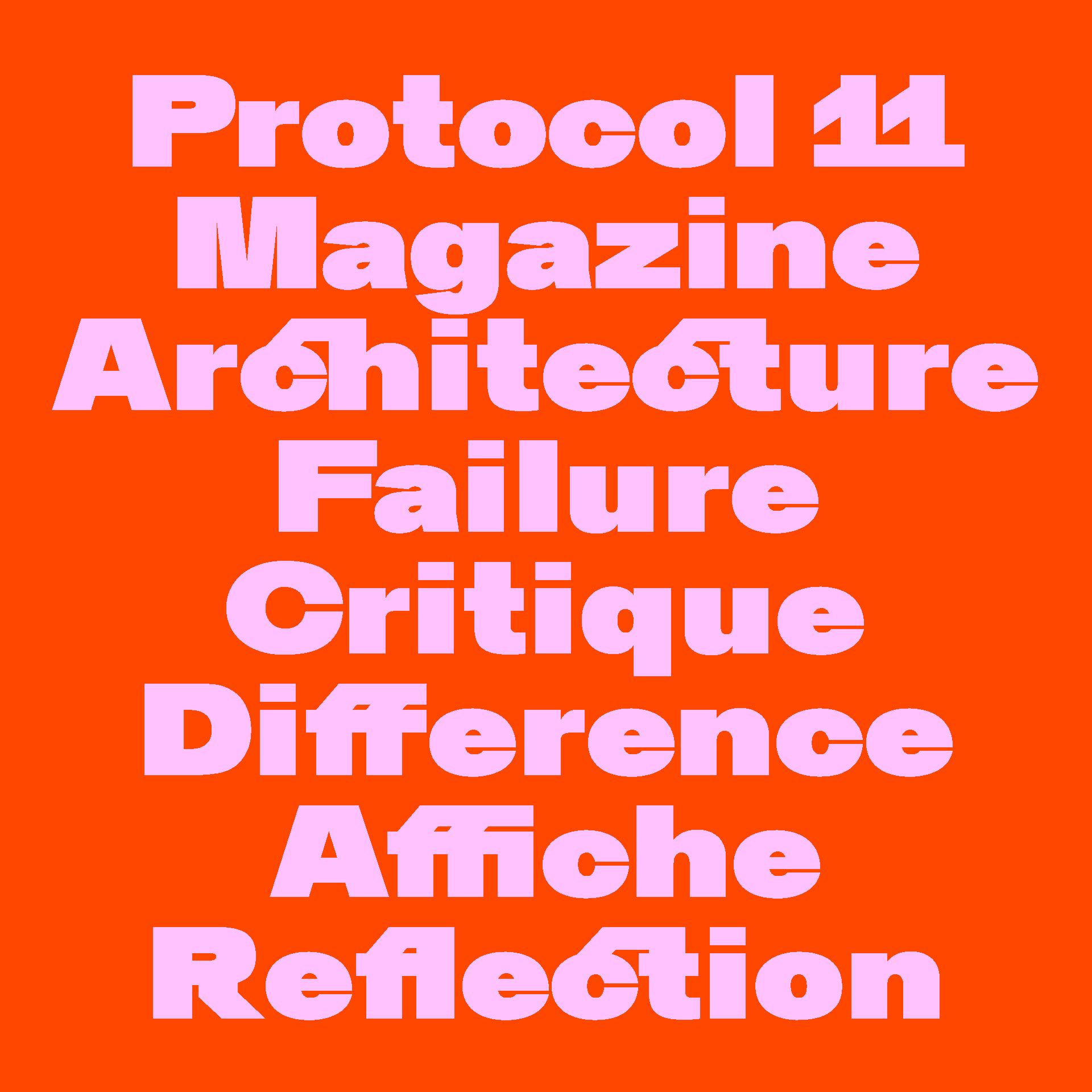 Kritik Typeface Ligatures